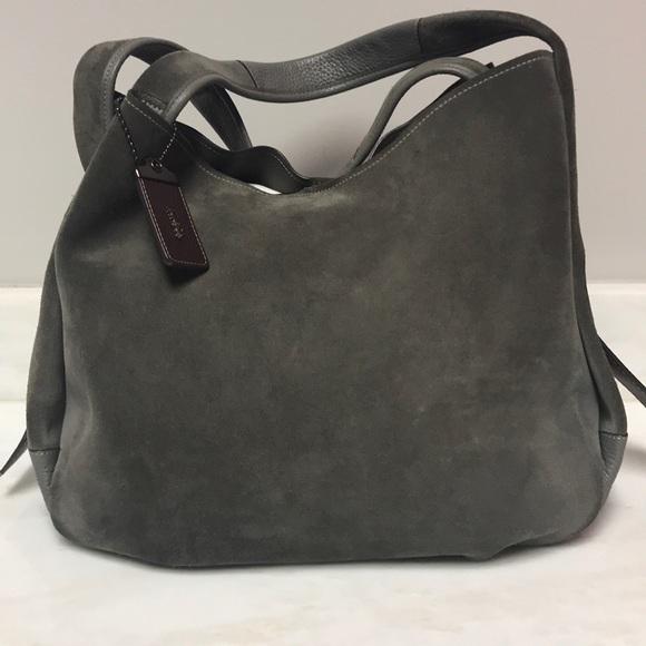 Coach Handbags - Coach Bandit Suede Handbag